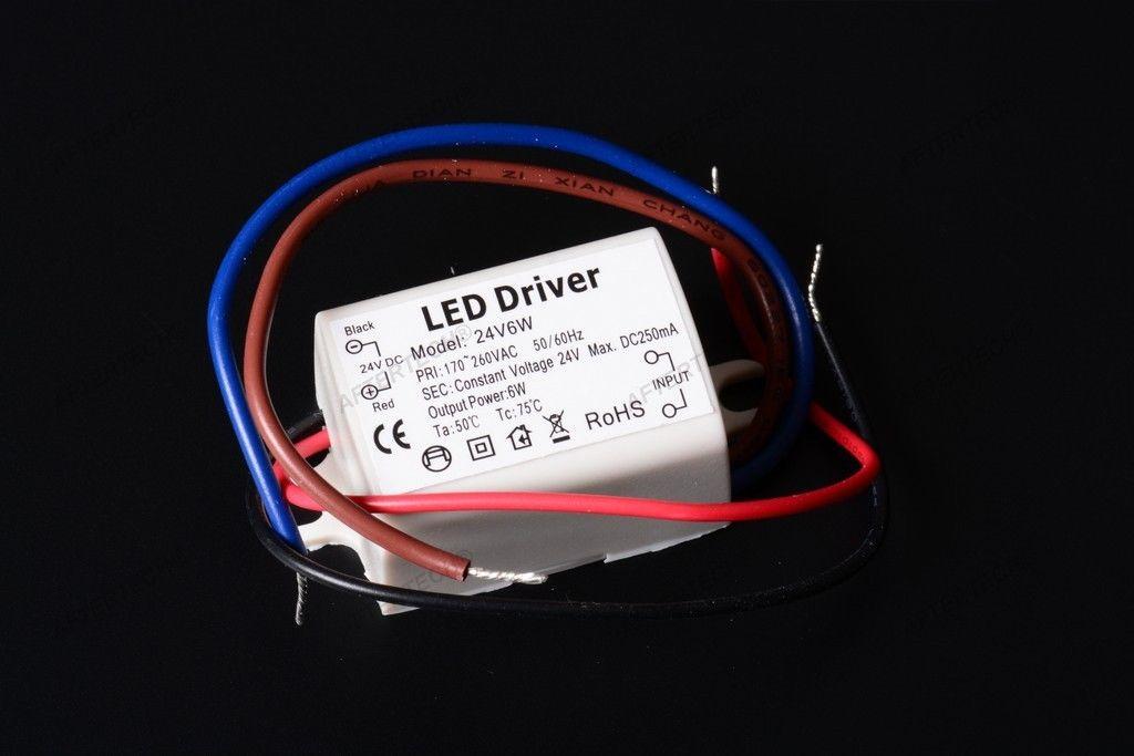 micro alimentatore trasformatore led 24v 6w 24volt tensione costante