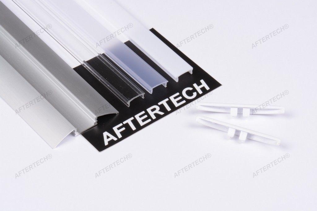 Profilo alluminio 1m 2m 3m per strisce strip led barra - Strisce led per bordo piscina ...