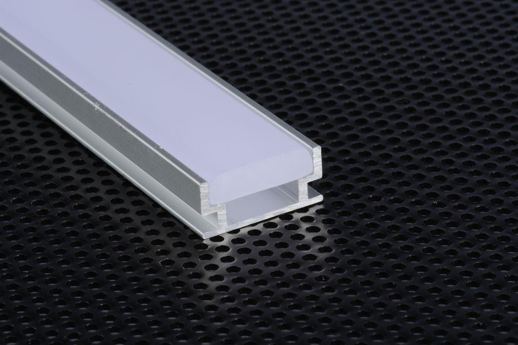 2m 1908 profilo alluminio calpestabile per strisce strip - Strisce led per bordo piscina ...