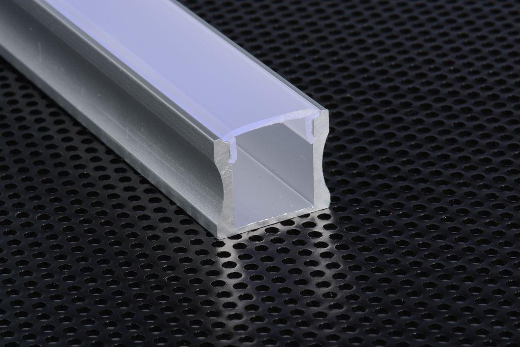 1715 profilo alluminio 1m per strisce strip led barra - Strisce led per bordo piscina ...