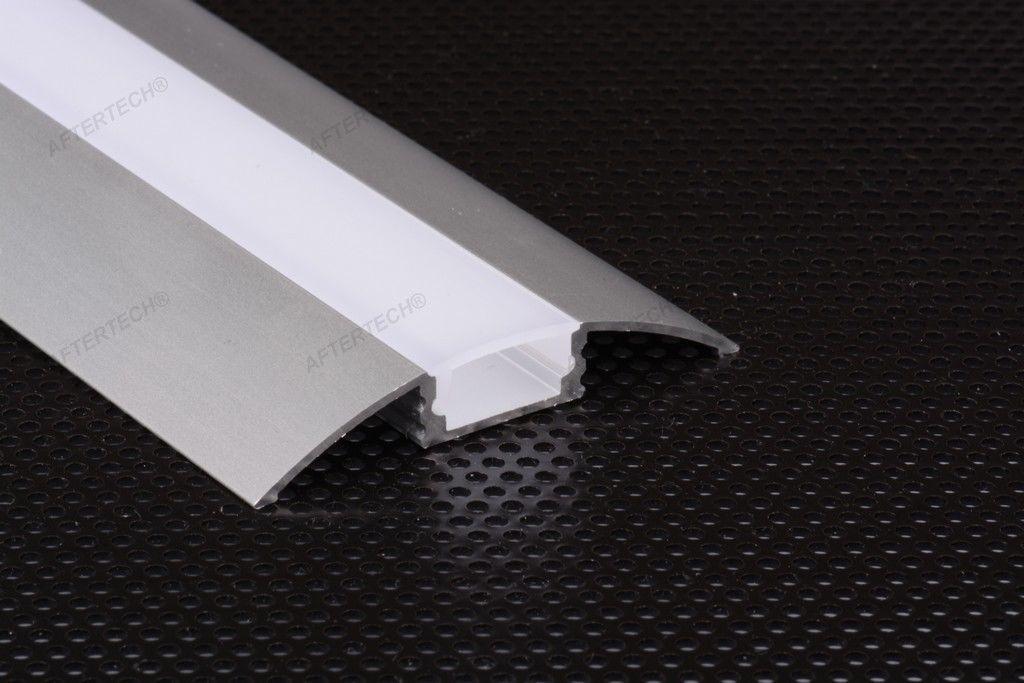 5309 profilo tangente alluminio 1m per strisce strip led - Strisce led per bordo piscina ...